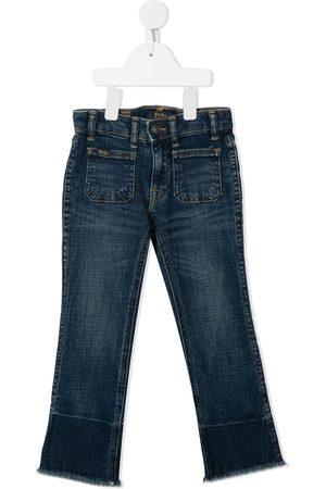 Ralph Lauren Girls Slim - Slim-cut flared denim jeans