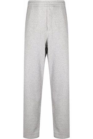 Isabel Marant Debossed-logo sweatpants - Grey