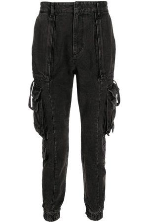 JUUN.J Slim-cut cargo trousers - Grey