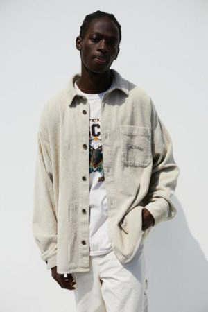 BDG Ecru Jumbo Corduroy Shirt