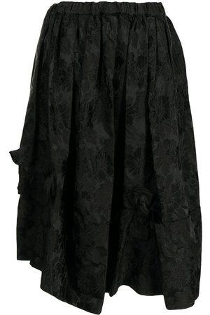 Comme des Garçons Women Asymmetrical Skirts - Asymmetric bow skirt
