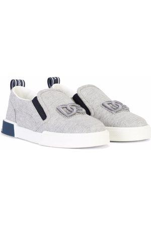 Dolce & Gabbana Portofino Custom 2.0 slip-on sneakers - Grey