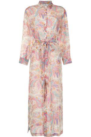Etro Women Printed Dresses - Paisley-print midi beach dress - Multicolour