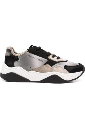Armani Women Sneakers - Lace-up low-top sneakers