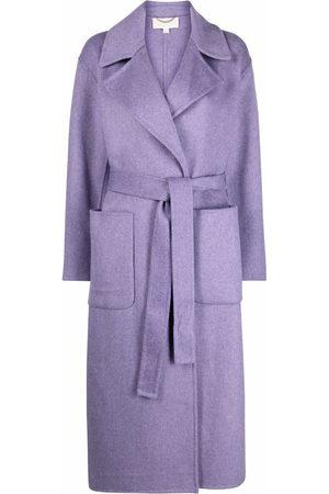 Michael Kors Women Coats - Belted single-breasted coat
