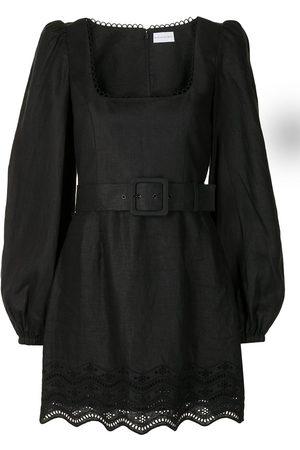 Rebecca Vallance Women Party Dresses - Zahara long-sleeve mini dress