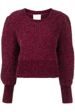 Cinq A Sept Puff-sleeve knitted jumper