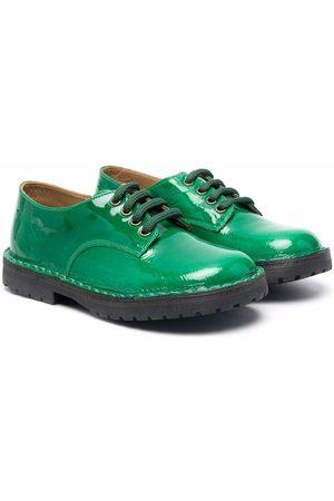 PèPè Boys Brogues - Patent-leather lace-up brogues