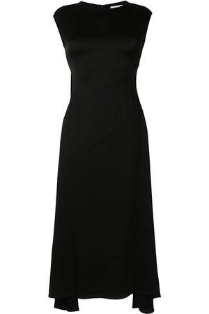 Anna Quan Women Asymmetrical Dresses - Vera asymmetric-hem midi dress