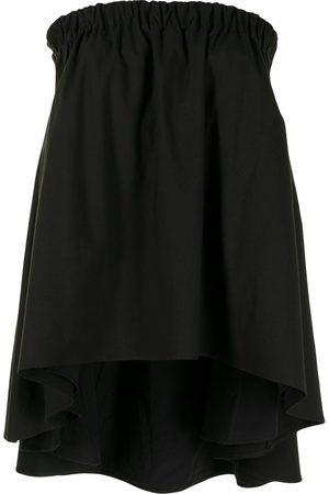 Anna Quan Molly strapless stretch-cotton top