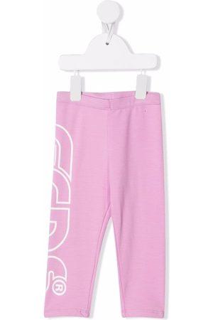 GCDS Sweatpants - Logo-print leg track pants