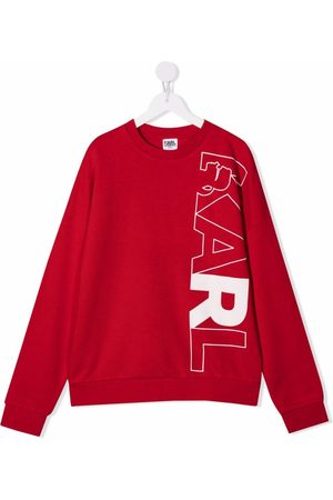 Karl Lagerfeld Logo-print long-sleeve sweatshirt