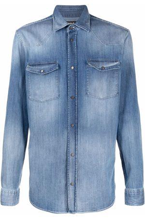 DONDUP Men Denim - Button-down denim shirt