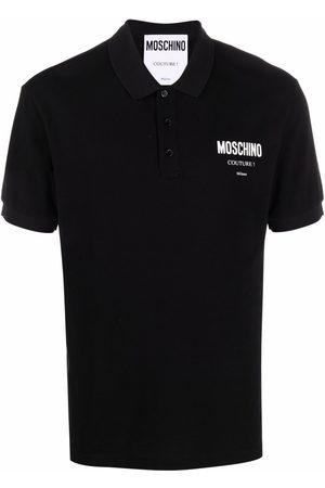 Moschino Men Polo Shirts - Logo-print polo shirt