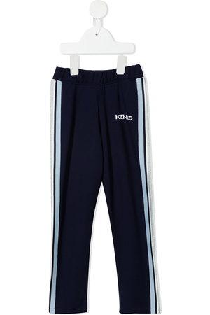 Kenzo Logo-print side-stripe track pants