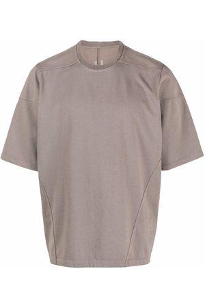 Rick Owens Strap-detail short-sleeve T-shirt - Grey