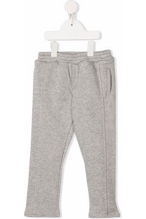 Balmain Baby Leggings - Logo-print sweat pants - Grey