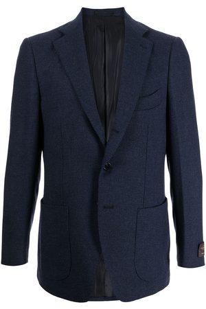 MAN ON THE BOON. Men Blazers - Single-breasted wool blazer