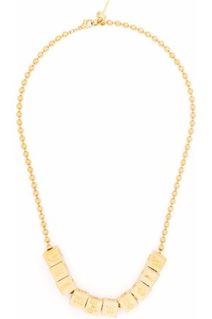 Palm Angels Men Necklaces - Dice-logo necklace