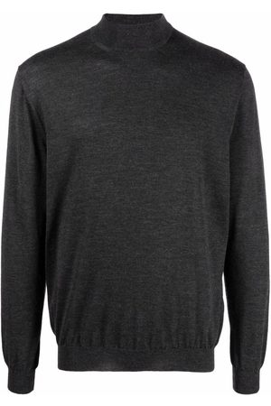 Malo High-neck jumper - Grey