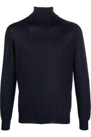 TAGLIATORE Men Turtlenecks - Fine knit roll neck jumper