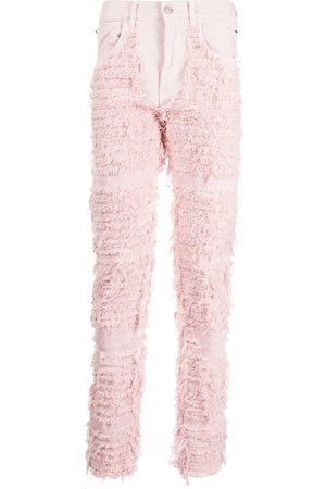 1017 ALYX 9SM Men Skinny Pants - Ripped-finish skinny-cut trousers
