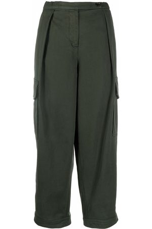 Aspesi Women Cargo Pants - Cropped cargo trousers