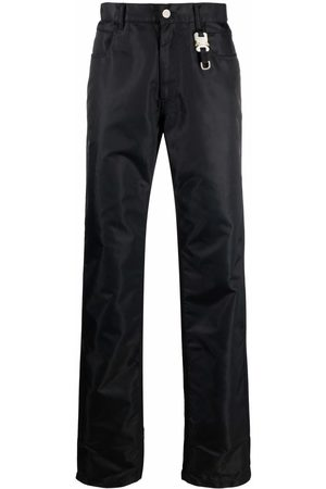1017 ALYX 9SM High-shine straight-leg jeans