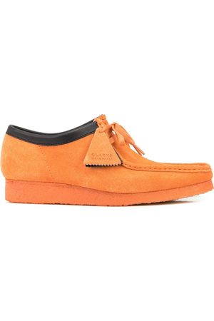 Clarks Contrast-trim Wallabee lace-up shoes