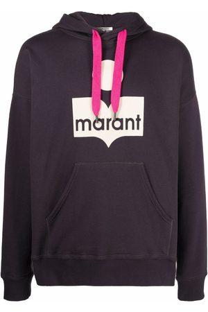Isabel Marant Miley logo-print hoodie