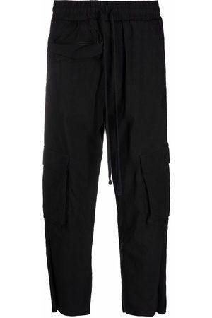 THOM KROM Flap-pocket track pants