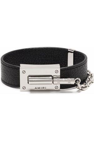 AMIRI Amp-jack logo bracelet