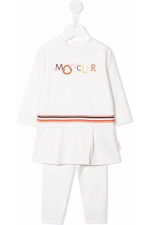 Moncler Sets - Stripe-print cotton tracksuit set