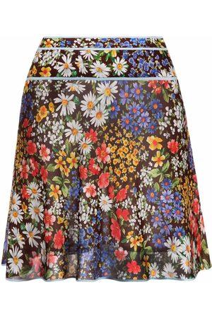 Dsquared2 Floral-print mini skirt