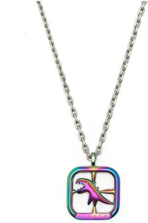 AGNÈS B. Necklaces - Square dinosaur necklace - Multicolour