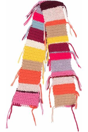 FORTE FORTE Women Scarves - Colour-block chunky knitted scarf