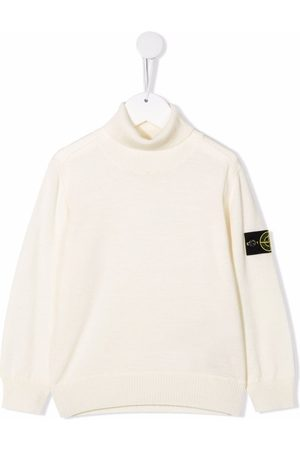 Stone Island Wool roll neck jumper - Neutrals