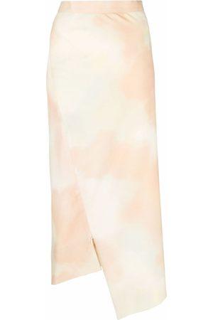 Vivienne Westwood Sky-Print Infinity midi skirt - Neutrals