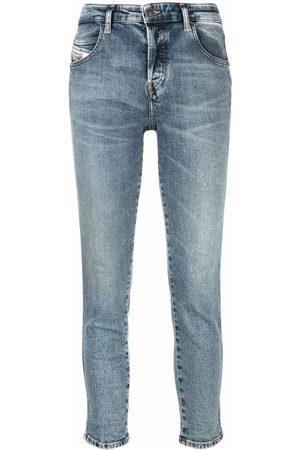Diesel Women Slim - Cropped slim-fit jeans