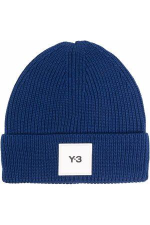 Y-3 Beanies - Logo-patch wool beanie