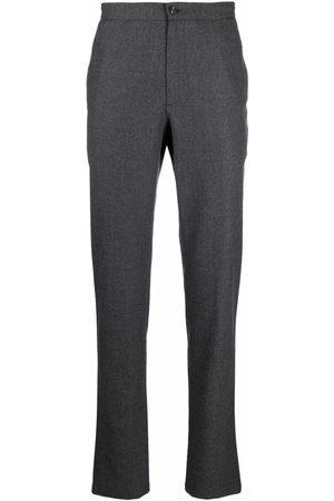 Boglioli Men Formal Pants - Slim-cut tailored trousers - Grey