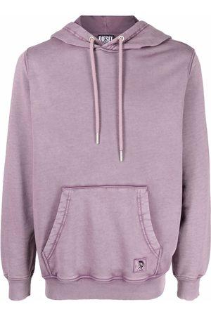 Diesel Men Hoodies - Drawstring pullover hoodie
