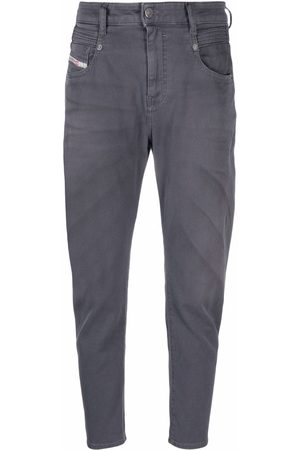 Diesel Women Tapered - D-Fayza tapered jeans - Grey