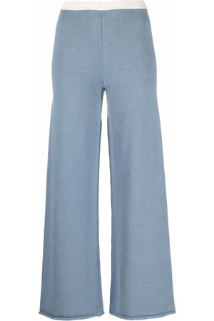 MM6 MAISON MARGIELA Straight knitted trousers