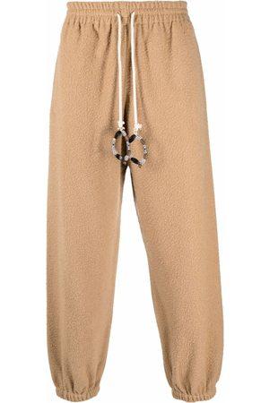 BONSAI Bead-embellished sweatpants - Neutrals