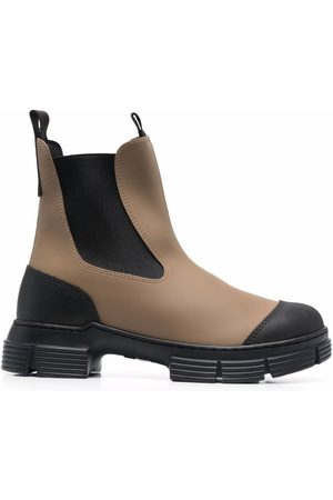Ganni Chunky ankle boots - Neutrals