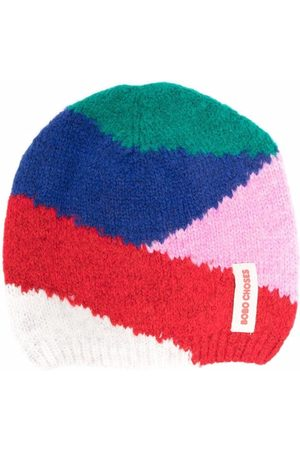 Bobo Choses Colour-block knitted hat