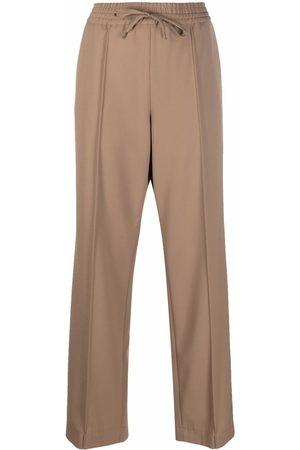 A.P.C. Drawstring waist trousers - Neutrals