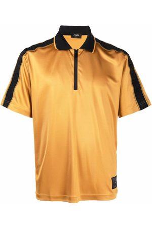 Fendi FF-motif short-sleeve polo shirt