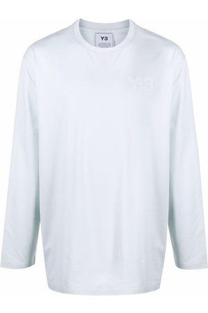 Y-3 Long Sleeve - Logo-print long-sleeved T-shirt